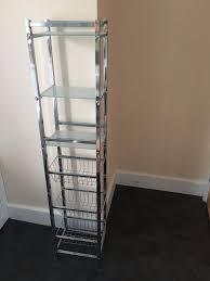 bathroom shelves john lewis free standing glass and chrome