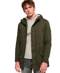 Superdry Mens Jacket Size Chart Superdry Mens Hooded Military Parka Jacket Coat New Military Parka