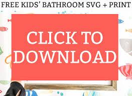 Bathroom, decoration, interior, towel svg vector icon. Funny Bathroom Svg And Print Kids Bathroom Sign