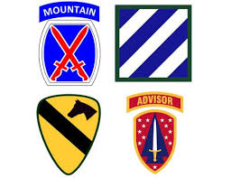 Deployment Patch Chart 2016 Army Units To Deploy To Afghanistan And Europe By The End Of