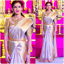 Blue Color Saree Blouse Designs 17 Mindblowing Kanjivaram Saree Blouse Designs Ideas