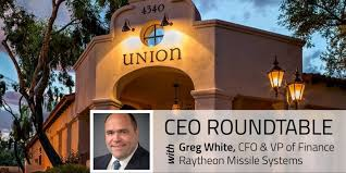 please join us and listen to greg white vp of finance cfo raytheon missile systems