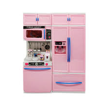 Toy Kitchen With Lights And Sound Pretend Play Cooking Modern Deluxe Kitchen Play Set Toy With