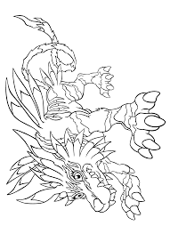 Digimon Coloring Pages Coloring Page Digimon