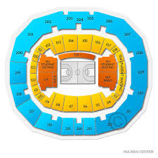Hulman Civic Center Seating Chart Chicago State Cougars At Indiana State Sycamores Mens