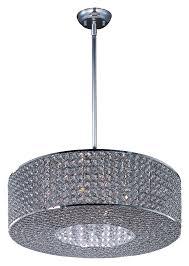 maxim 39896bcps glimmer medium 21 inch diameter plated silver drum lighting pendant max 39896bcps