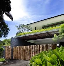 Small Picture Modern Green Home Design with Open Room and Garden The Sun House
