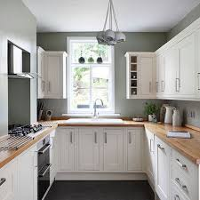 White And Sage Green Country Kitchen Green Country Kitchen Sage Stunning One Wall Kitchen Designs Set