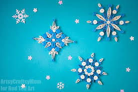 Snowflake Patterns Unique Quilled Snowflake Patterns Red Ted Art's Blog