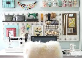 office wall storage. Office Wall Storage A Beautiful Colorful Craft Room With Pegboard For Baskets .