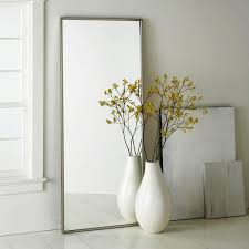 Ikea White Floor Mirror Standing M And Modern Ideas