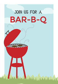 BBQ Cookout - Free Printable BBQ Party Invitation Template | Greetings  Island