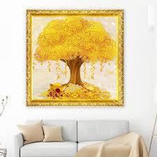 5d diamond diy wealth tree full diamond painting mf3622 40 40cm