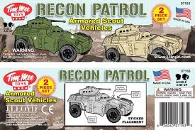 army recon scout timmee recon patrol armored cars plastic army men scout vehicles