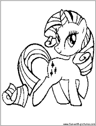 Small Picture Printable 24 My Little Pony Coloring Pages Rarity 3234 My Little