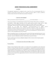 Printable Purchase Agreement Template Sales For Buying A House ...