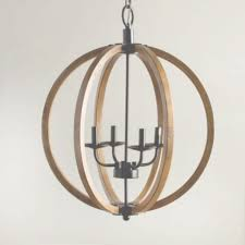 stylish wooden orb light fixture rustic orb chandelier chandeliers throughout wood orb chandelier view