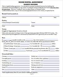 Free Printable Rental Agreement Awesome 48 Sample Free Printable Rental Agreements Sample Templates