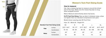 Female Size Chart Australia Virus Compression Clothes Size Guide Compression Sizing