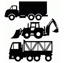 commercial lawn mower silhouette. transport construction set 6 by studo illustrado #75563. silhouette commercial lawn mower