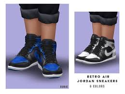 Theyoungenzo's high cut shoes v4. Sims 4 Sneakers Downloads Sims 4 Updates