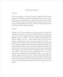 leadership essay example samples in word pdf nursing leadership essay