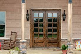 image of exterior french doors design