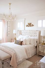Small Bedroom Makeovers Pink And Gold Girls Bedroom Makeover Pink Accents Girls And Design