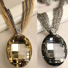 Buy necklace women <b>vintage crystal</b> long and get free shipping on ...