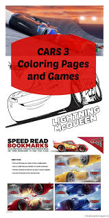 Small Picture FREE Printable CARS 3 Coloring Pages and Games Cars3 Finding