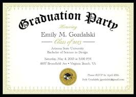 Invitations For Graduation Party Template Dancarlyle Me