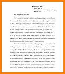 Reflective Essay Format Extraordinary Format For Reflection PaperSelf Reflective Essay Templatejpg
