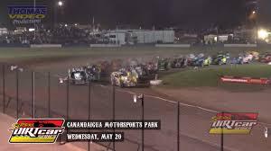 highlights super dirtcar series big block modifieds canandaigua motorsports park may 20th 2016