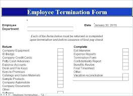 employee termination form template employee exit interview checklist template 416035451585 employee