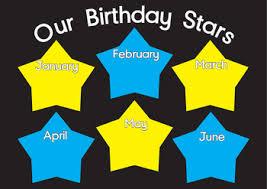 Star Chart By Birthday Birthday Star Chart