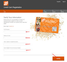 Home Depot Credit Card Payments