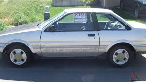 1985 toyota corolla gts for