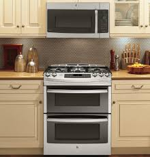 Double Oven Kitchen Cabinet Kitchen Ge 30 Inch Slide In Double Oven Gas Range With Oven Range