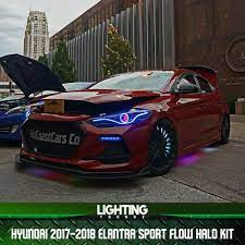 Check spelling or type a new query. Hyundai 2017 2018 Elantra Sport Flow Halo Kit Lightingtrendz