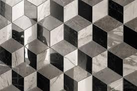 Pavimento Bianco Effetto Marmo : Naturalezza effetto marmo dalle forme esagonali ceramica atlas