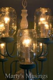 mason jar chandelier diy mason jar chandelier from martys musings 4 mason jar lights diy mason jar chandelier diy