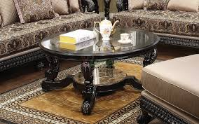 alya round coffee table toronto with beveled glass top xiorex