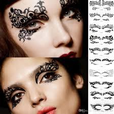 Eye Makeup Sticker Designs Fashion Eyeliner Makeup Artistic Creativity Eye Stickers Decorate Eyelids Eyelash Instant Eye Shadow Sticker Art Temporary Tattoo Stickers Temporary