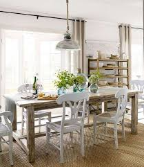 Farmhouse Dining Room Lighting 5 Reasons Why Interior Designers Prefer White Dining Chairs