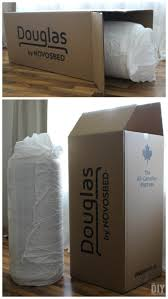 mattress in a box. Douglas Mattress By NOVOSBED. Made In Canada And Delivered A Box .