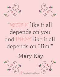 Mary Kay Quotes Interesting The Seminar Aftermath for Mary Kay Sales Directors Pink Truth