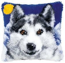 Купить <b>Vervaco Набор для вышивания</b> Лайка 40 x 40 см (0014127 ...