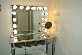 Vanity Table With Lighted Mirror Diy