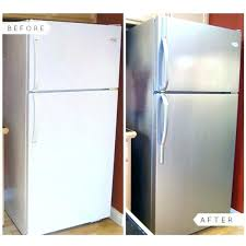 you have to live with that outdated fridge simply paint it you have to live with