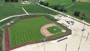 The new york yankees will battle the chicago white sox — here. They Re Building It Field Of Dreams Game Less Than Two Months Away